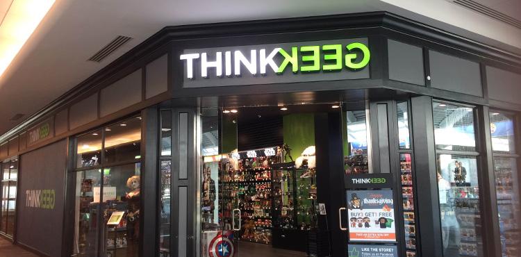 A ThinkGeek store.