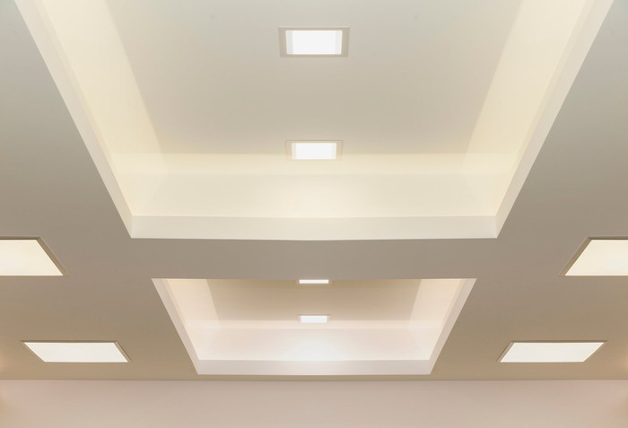 Modern ceiling lights.