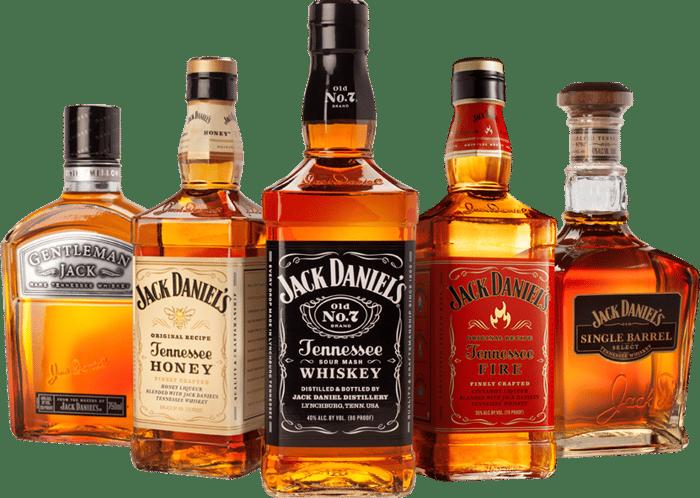 Jack Daniel's family of whiskey