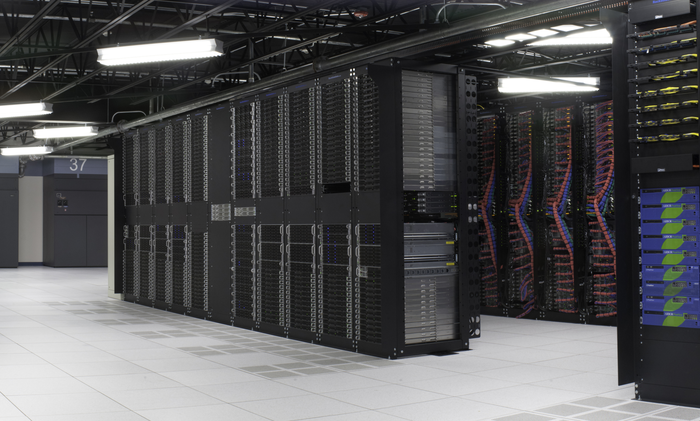 An IBM cloud data center
