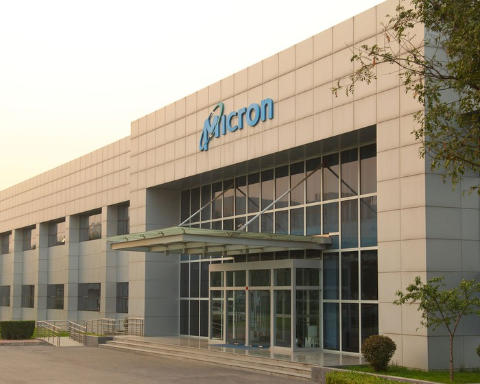 A Micron facility in Xi'an, China.