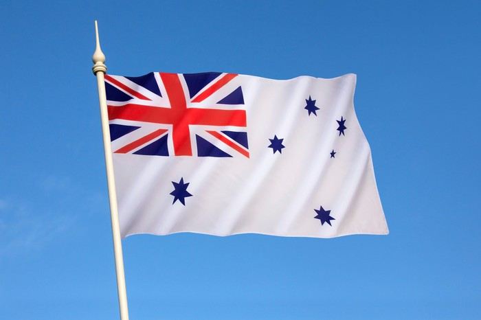 Royal Australian Navy flag