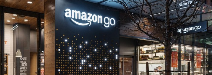 An Amazon Go store.