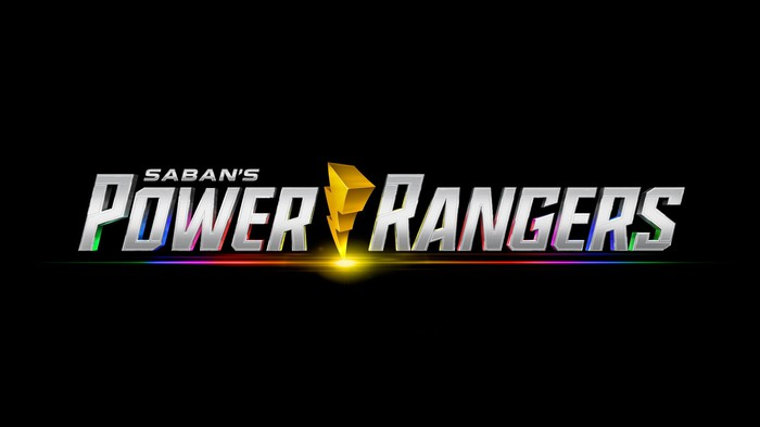 Logo for Saban's Power Rangers.