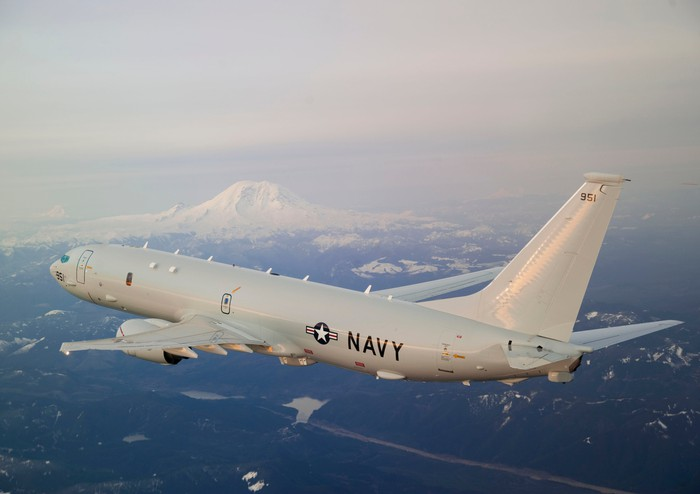 Boeing P-8 Poseidon in flight