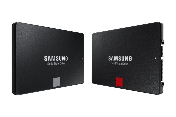 Samsung solid state drives based on its NAND flash.