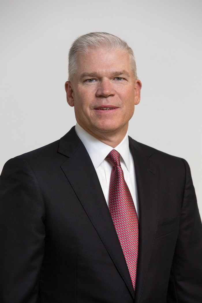 A simple photo of TI CEO and chairman Rich Templeton.