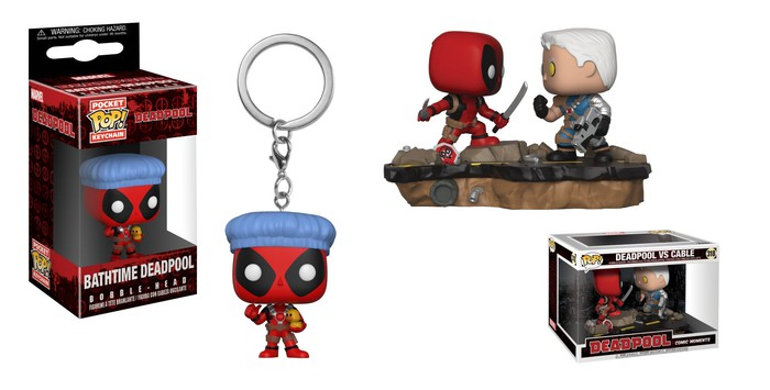 Funko's Pop! figurines.