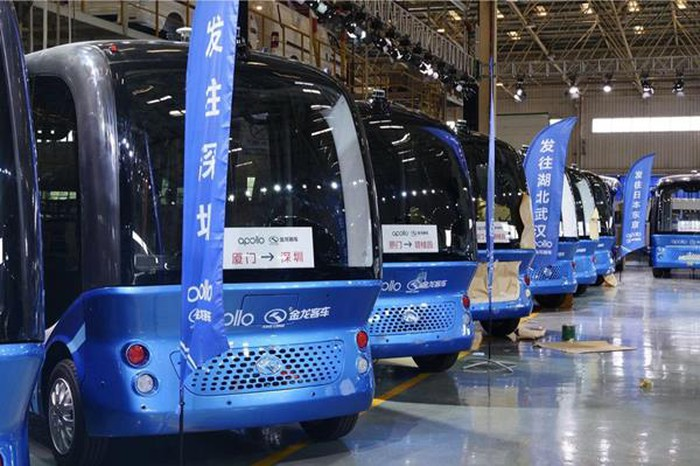 Baidu's Apolong self-driving buses