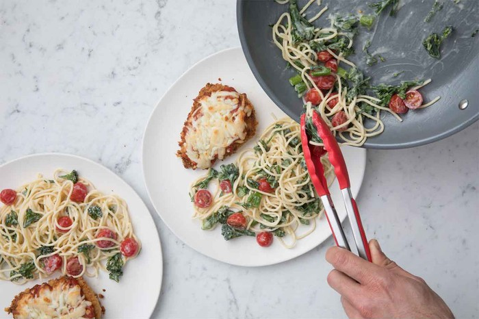 Chick-fil-A's chicken parmesan meal kit.