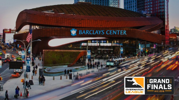 Exterior of Barclays Center