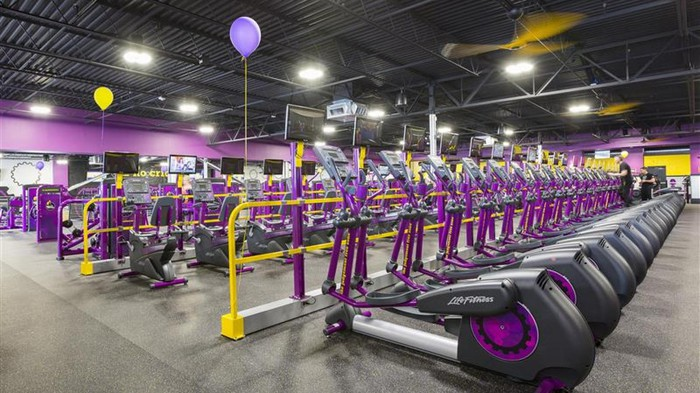 Planet Fitness brand cardio equipment