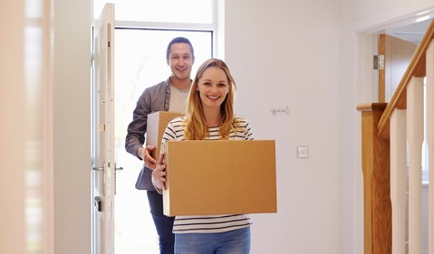 Millennials moving into new home