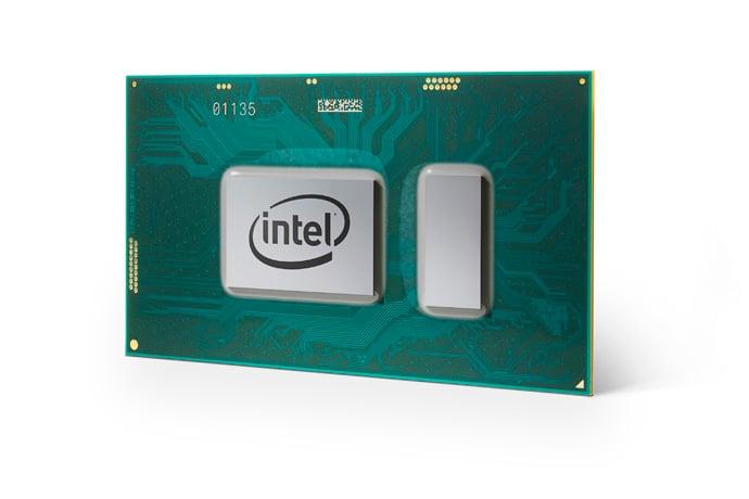 An Intel notebook processor