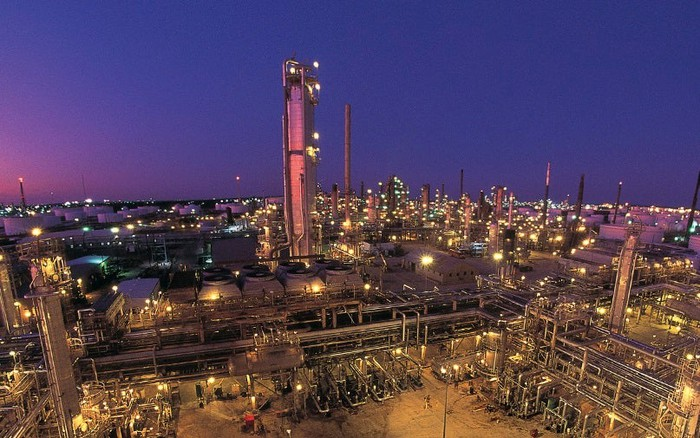 Valero's Texas City refinery.
