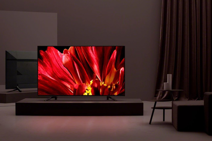 A Sony Bravia TV.