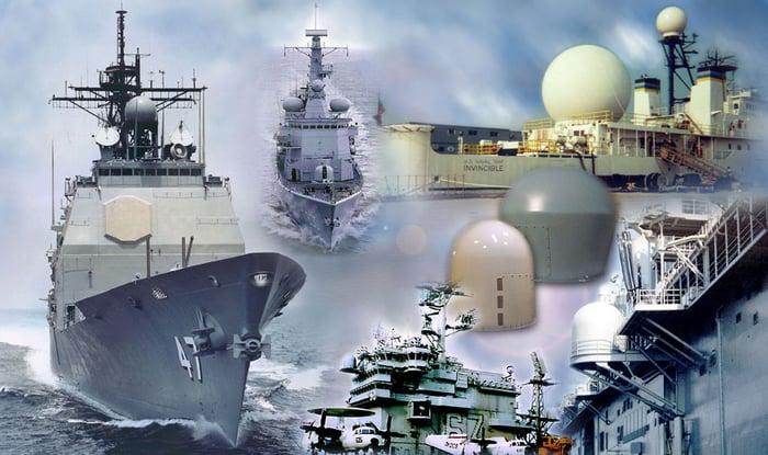 shipboard radomes