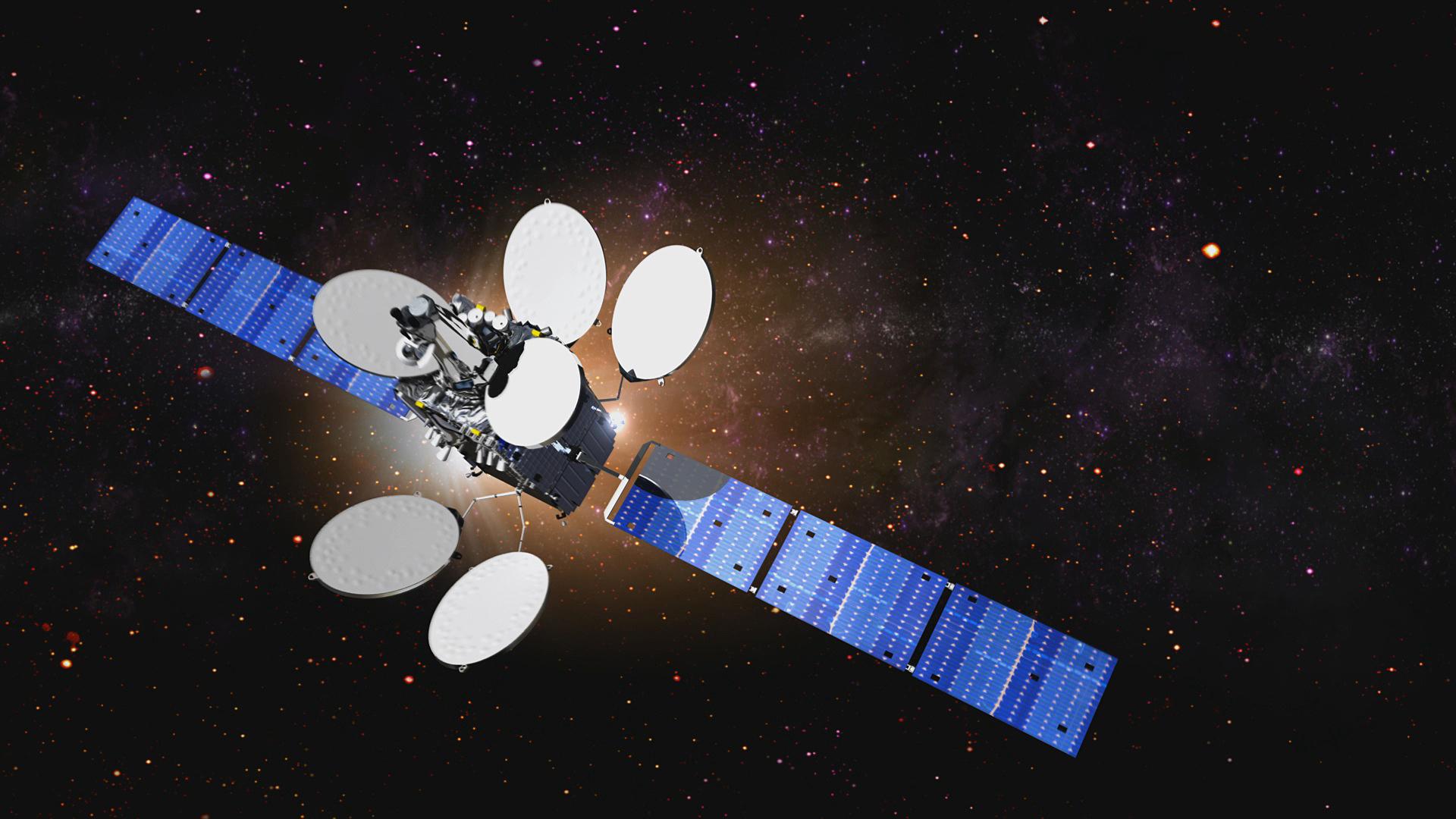 Intelsat 35e satellite
