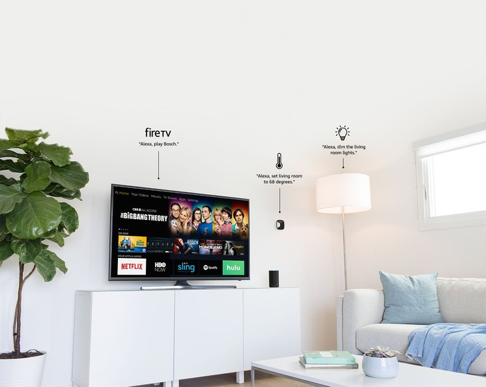 Alexa's smart home connections.