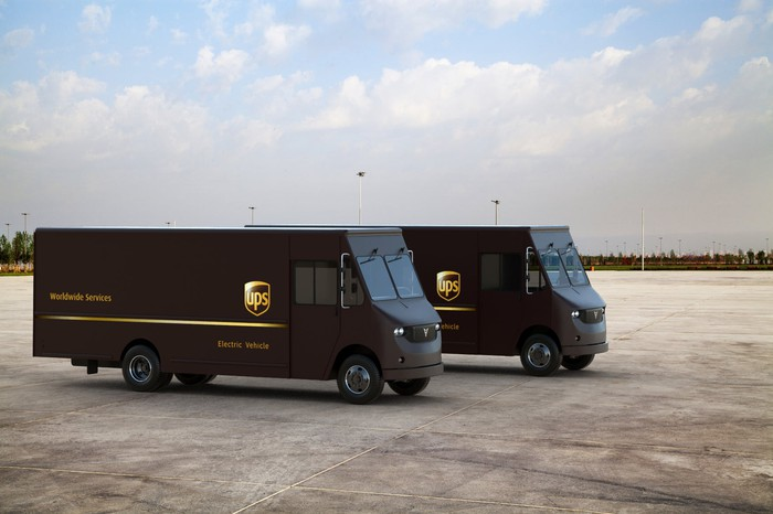 UPS electric vehicles