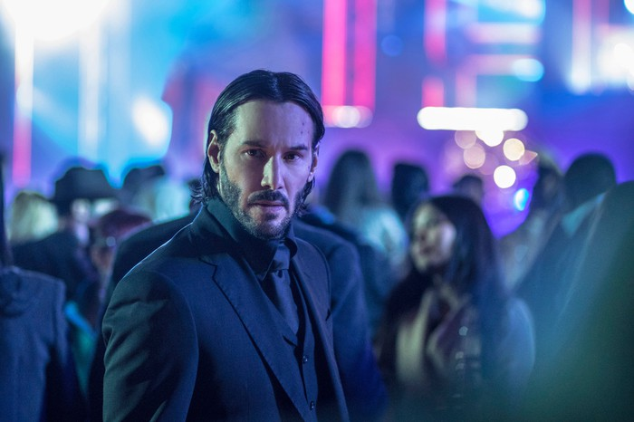 "Keanu Reeves as John Wick in a still from Lionsgate Home Entertainment's ""John Wick: Chapter 2."""