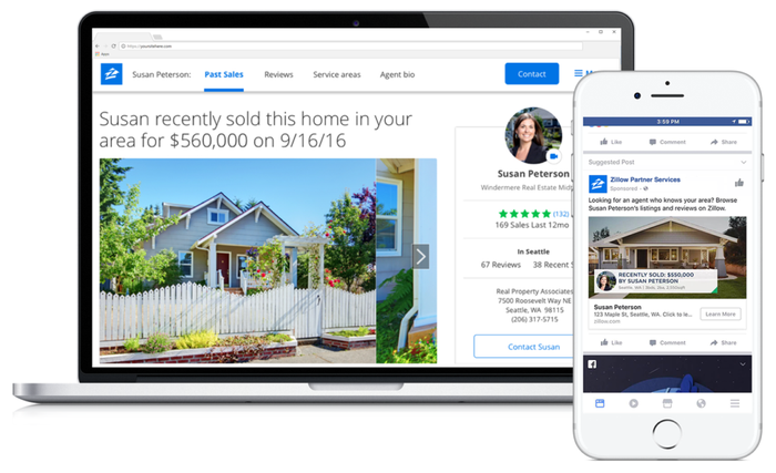 Zillow Seller Boost feature for Premier Agents.