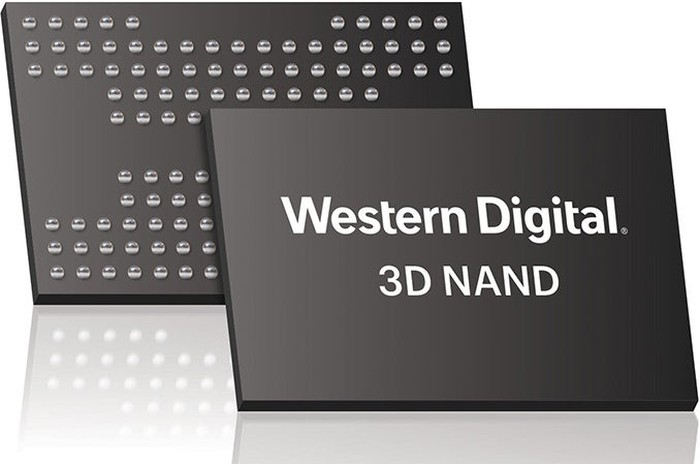 Western Digital 3D NAND memory chips.
