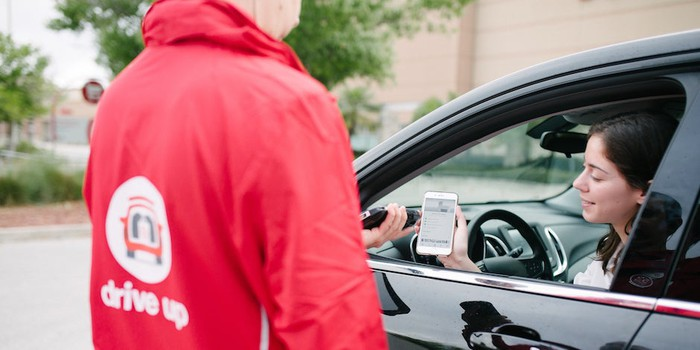 Target's drive-up service