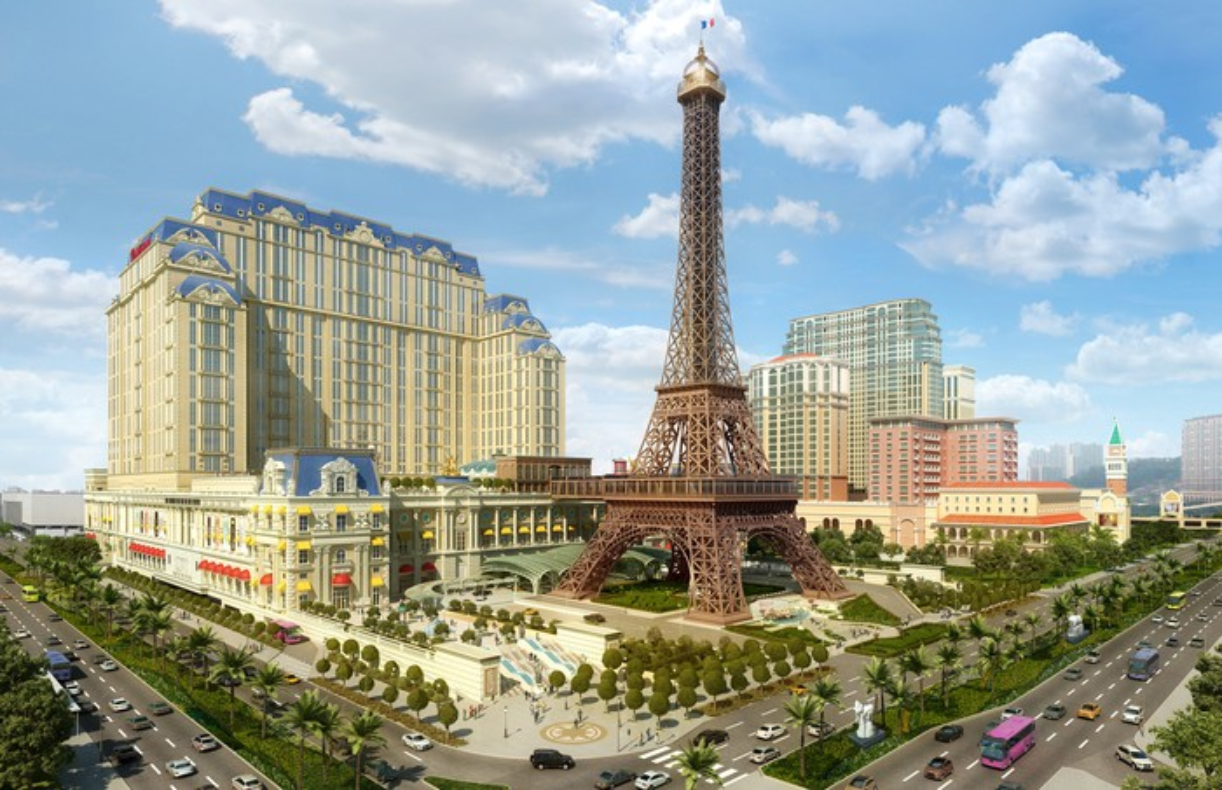 The Parisian in Macau.