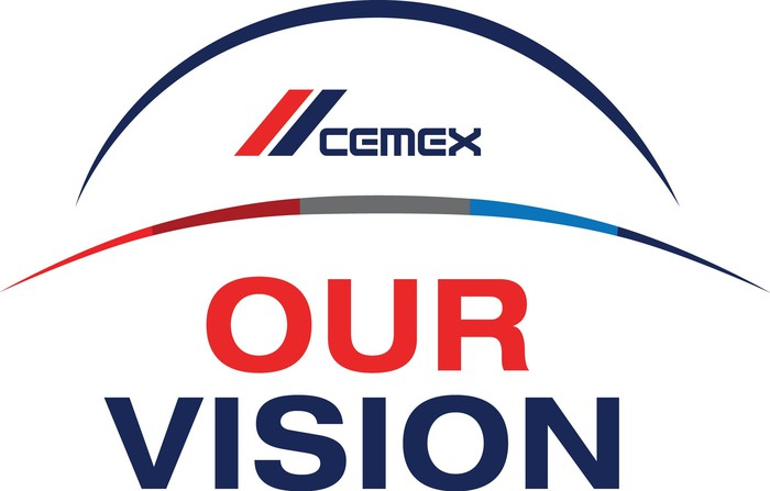 Cemex logo with Our Vision under it.