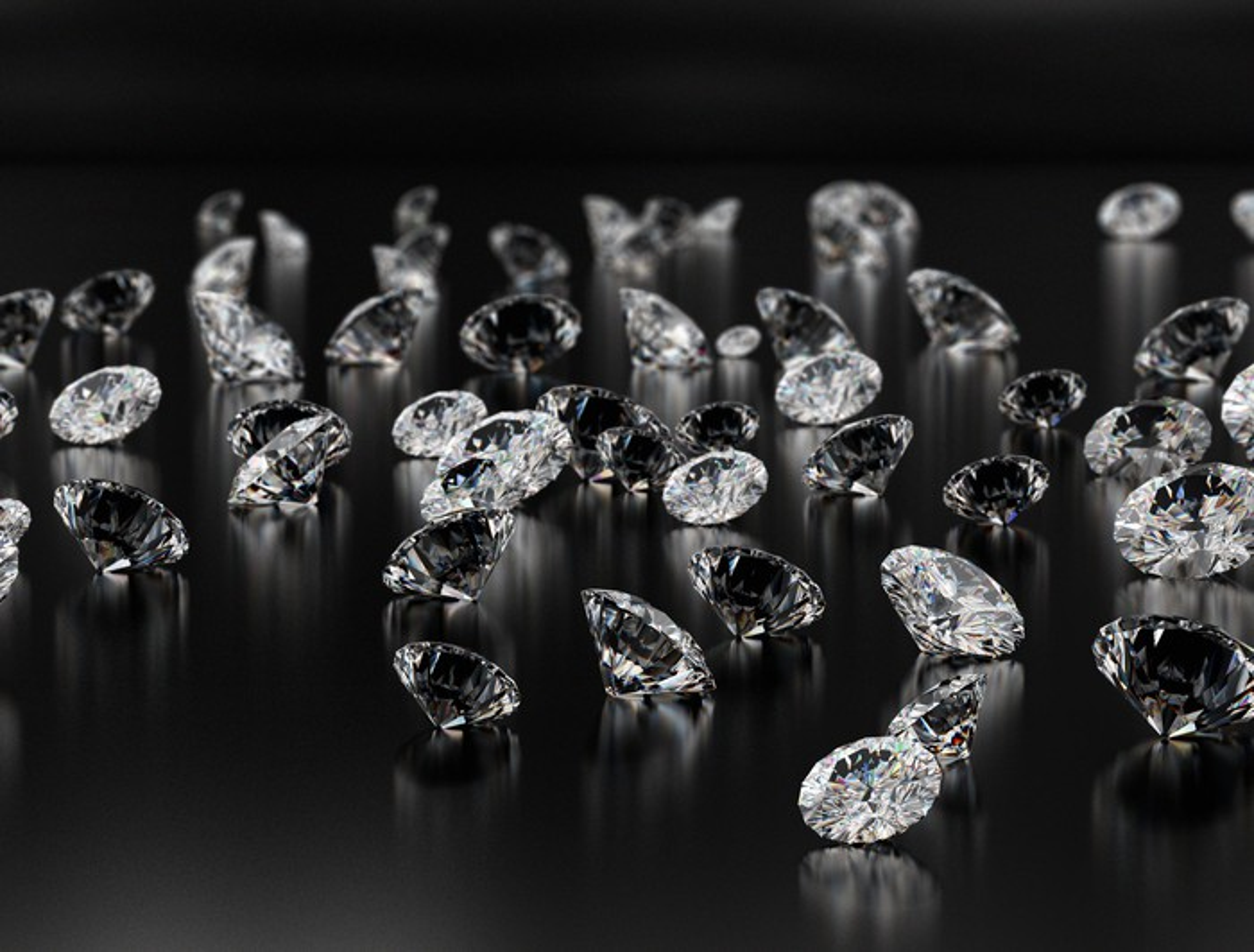 Unset diamonds
