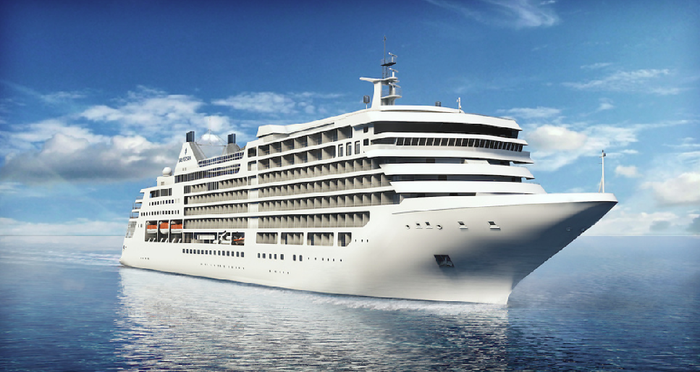 Silver Muse luxury cruise liner