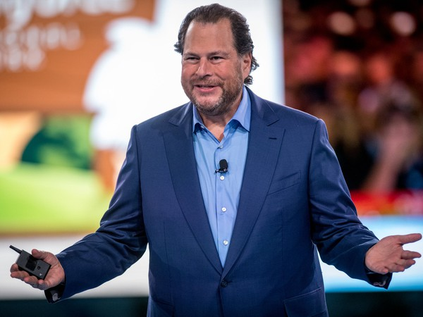 Salesforce Chairman and CEO Marc Benioff at Dreamfest 17