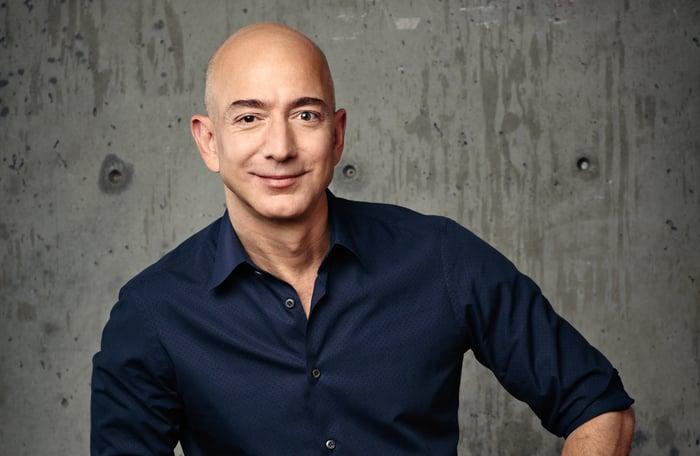 Jeff Bezos portrait