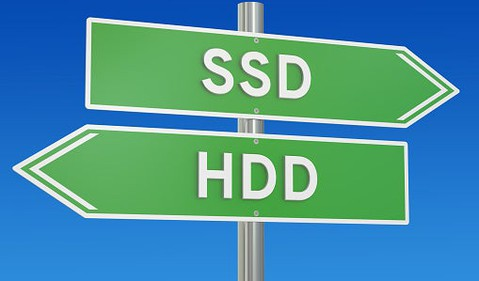 HDD SSD Sign
