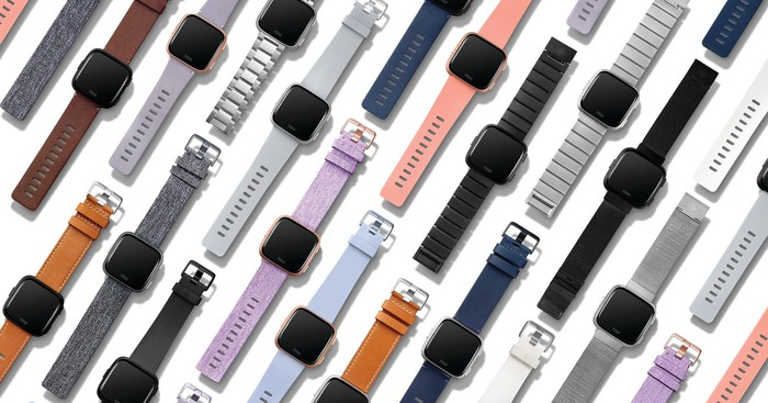 Fitbit Versa.