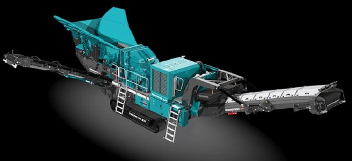 Terex materials processing equipment.