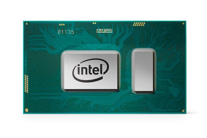 An Intel 8th generation Core processor.