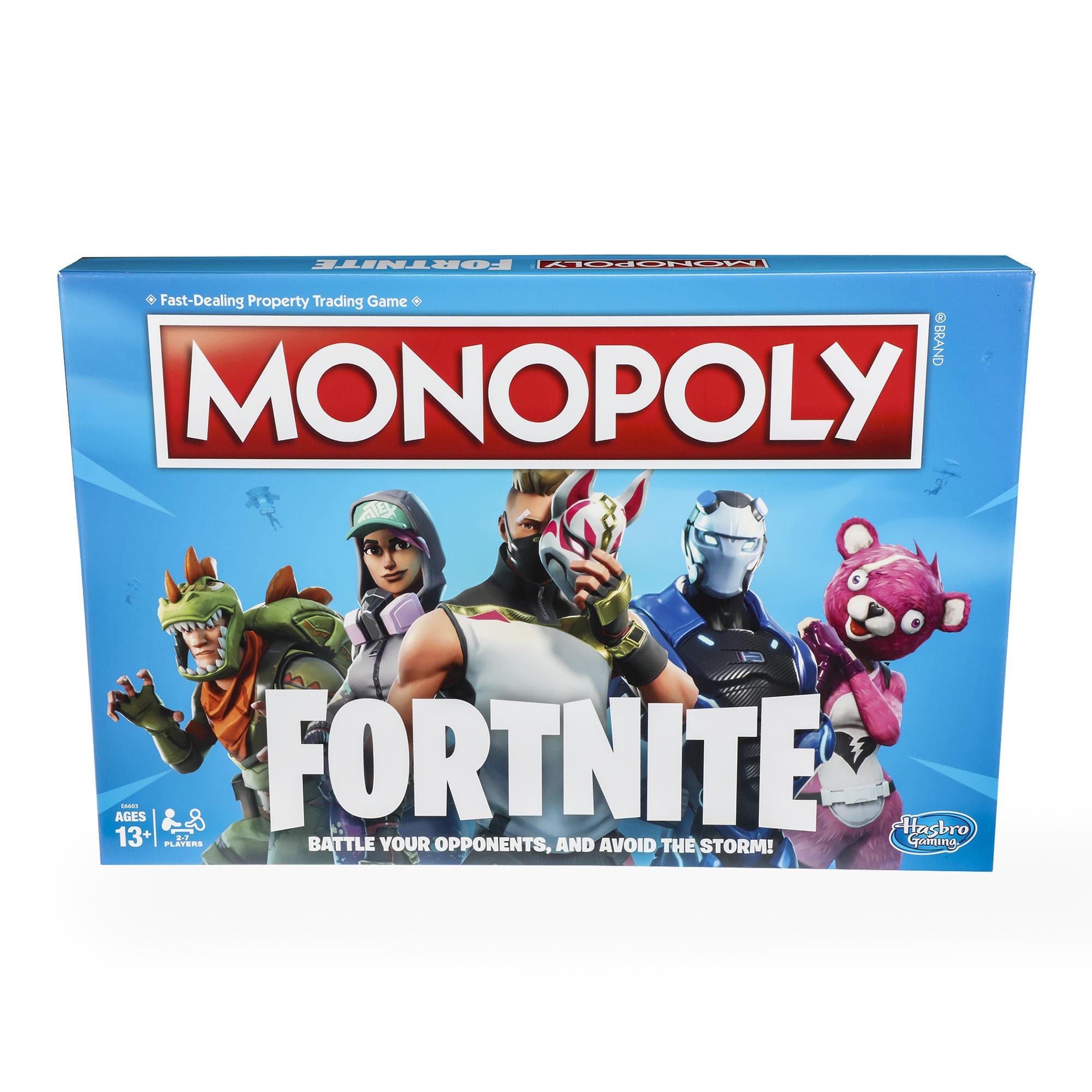 Hasbro's Fortnite Monopoly game.
