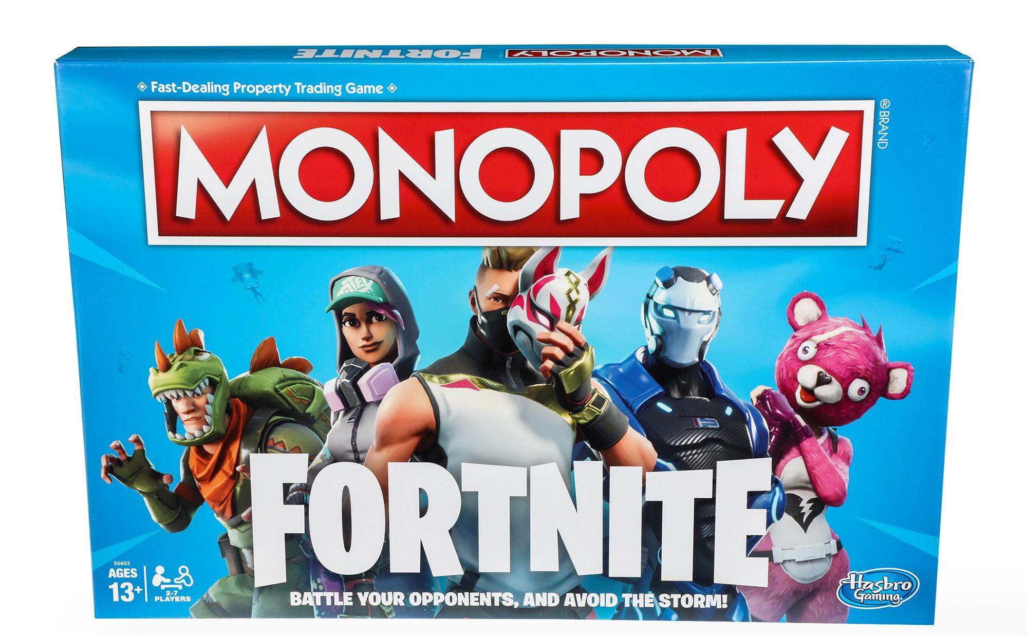 Fortnite Monopoly.
