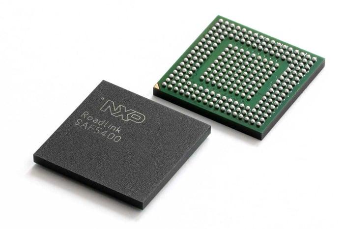 An NXP automotive chip.