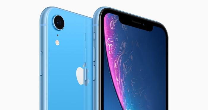Blue iPhone XR
