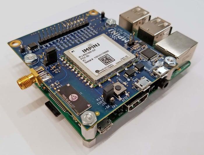 An Impinj development kit.