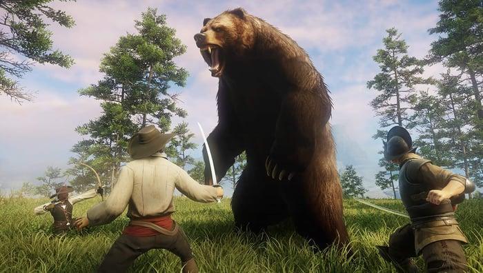 "Amazon Game Studios' ""New World""."