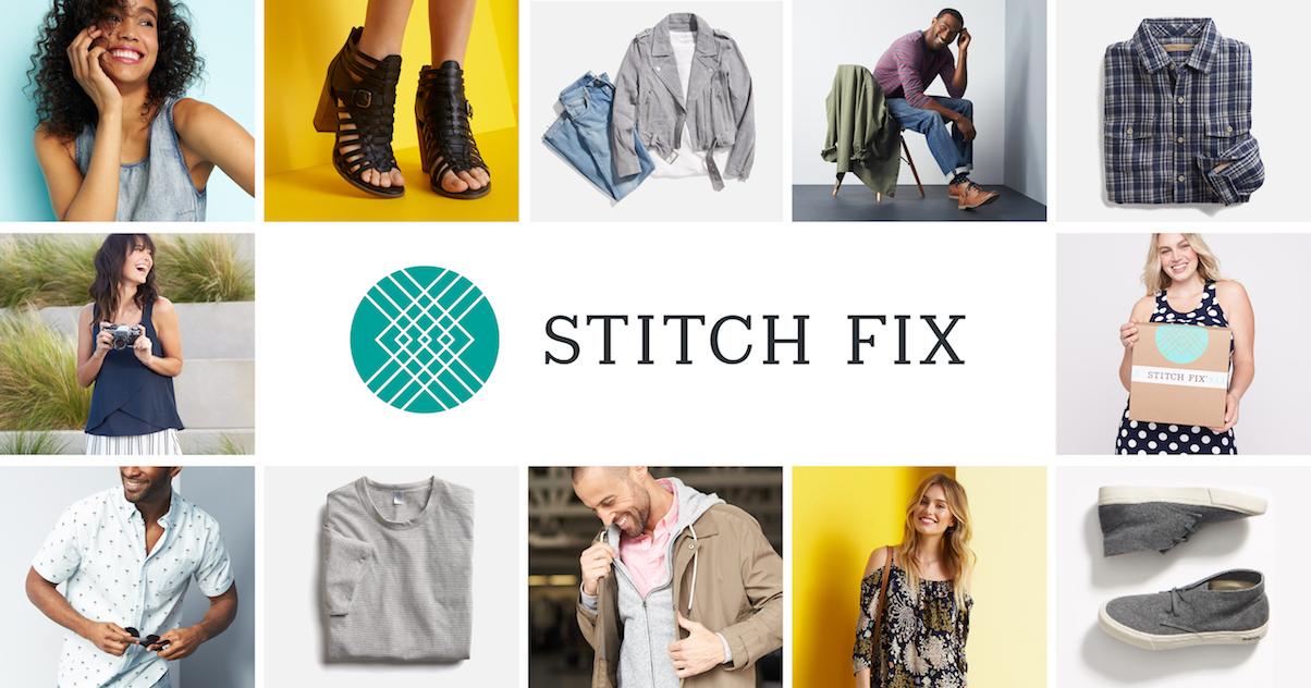 A collage of Stitch Fix fashions.