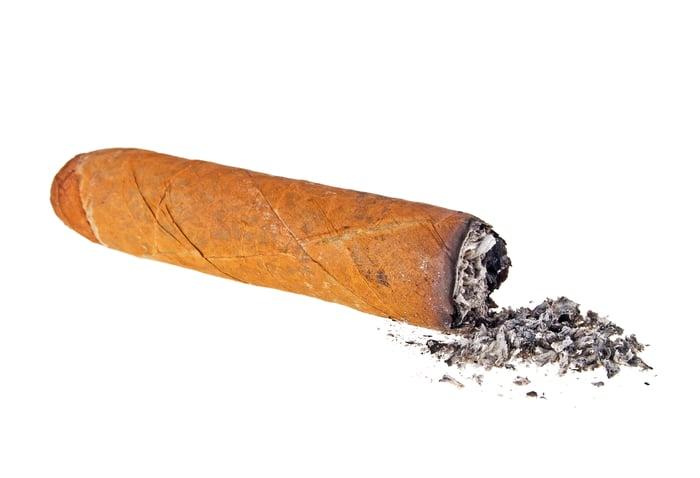 Cigar butt.