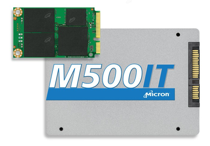 A Micron solid-state drive.