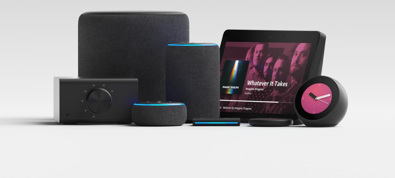 Amazon's new Echo product lineup