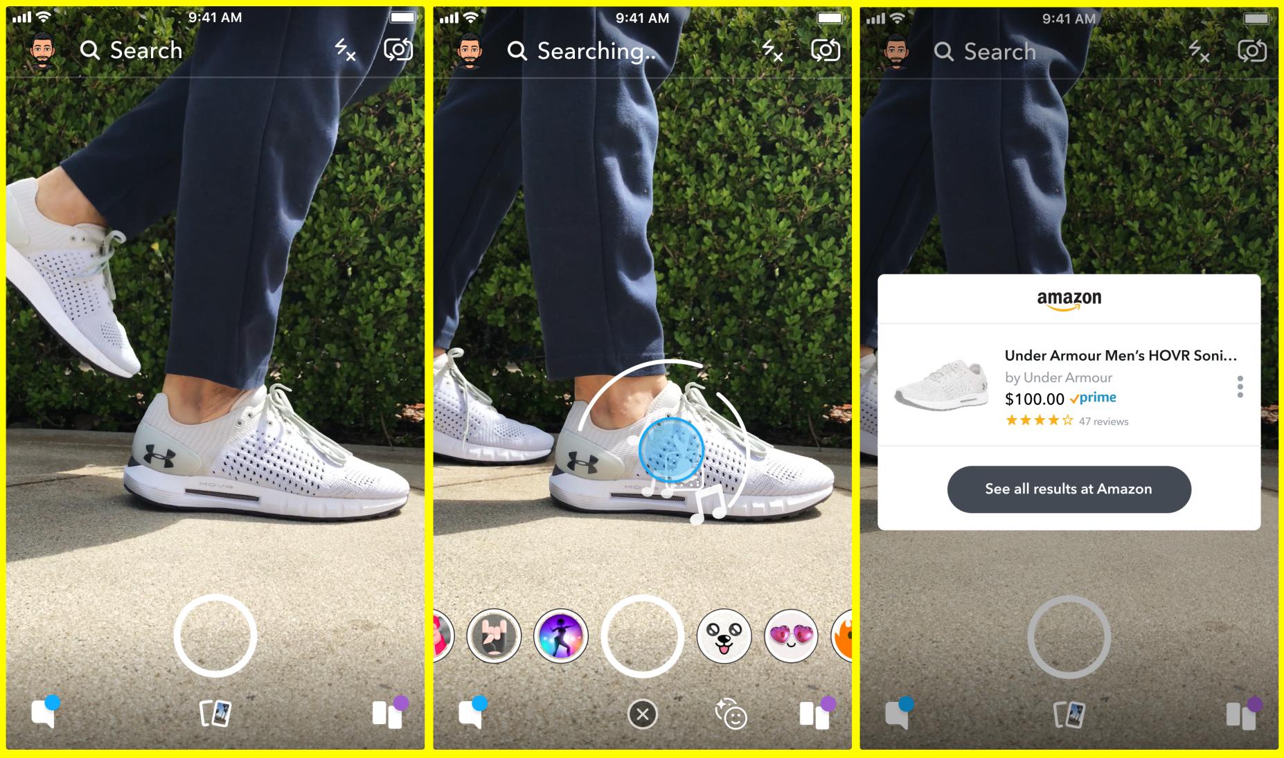 Snap's new visual e-commerce app