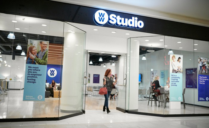 A WW Studio storefront.